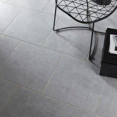 carrelage sol et mur gris effet bton factory l45 x l45 cm - Carrelage Gris Mur