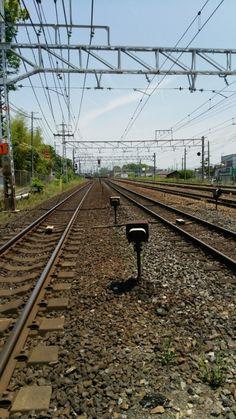 大阪と京都の境 島本町の撮り鉄スポット