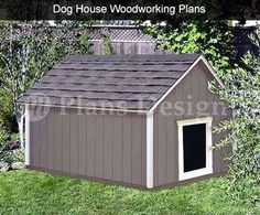 big dog house | Large Dog House Plan – Big Dogs Need Space!