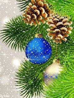 Merry Christmas Gif, Christmas World, Christmas Scenes, Christmas Art, Christmas Greetings, Christmas Wishes, Merry Christmas And Happy New Year, Christmas Bulbs, Christmas Things