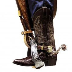 Photo about Cowboy boots resting on the stirrup. Image of texture, leather, shoe - 18970362 Cowboy Boots, Stock Photos, Model, Leather, Shoes, Safety, Google Search, Photography, Security Guard