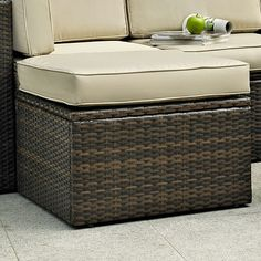 Found it at Wayfair - Crosson Ottoman with Cushion