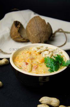 Afrykańska zupa z masłem orzechowym