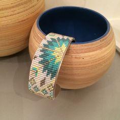 Bracelet Indian Spirit / prototype via videbazarmamoizellek. Click on the image to see more!