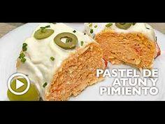 Receta de pastel de atún y pimientos - Divina Cocina Empanadas, Spanish Food, Canapes, Tapas, Food And Drink, Appetizers, Cooking Recipes, Yummy Food, Favorite Recipes