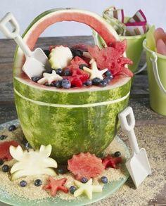 Kinder Geburtstag Essen Obstsalad Sommer Früchte Tolle Wandtattoos, Autoaufkleber, Kinder-T-Shirts bei www.wand-design-und-mehr.de , bis gleich!