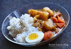 Bento Lunch Blog: Rezept: Kare-Raisu mit Apfel & Ketchup