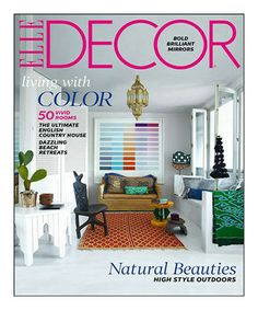 Another great find on #zulily! Elle Décor Magazine Subscription #zulilyfinds