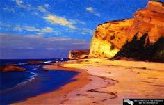 Untitled   (also known as Bluffs at Point Dume, Malibu)  William Wendt - 1897