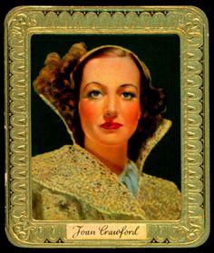 German Cigarette Card - Joan Crawford 1935