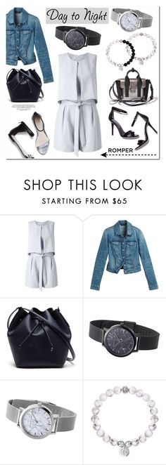 """""""Day to Night: Rompers"""" by christianpaul ❤ liked on Polyvore featuring Miss Selfridge, White House Black Market, 3.1 Phillip Lim, Lacoste, DayToNight, romper, contestentry, christianpaul and christianpaulwatches"""