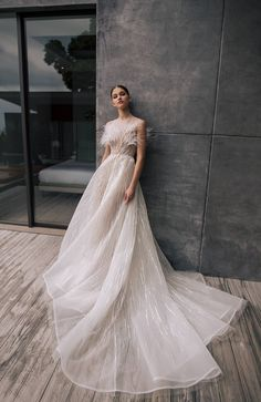 Welcome to Nicole + Felicia. Browse the official website for information on our newest collections and retailers. White Gowns, White Dress, Bridal Gowns, Wedding Gowns, Wedding Dress With Feathers, Full Length Gowns, Couture Dresses, Couture Fashion, Wedding Styles