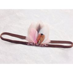 "6-12 Month (16 1/2"") MINI Feather Woodland Crown ""Little Fawn"" on Etsy, $32.00"