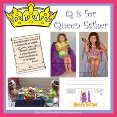 Q is for Queen Esther