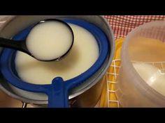 Sajt készítés házilag. Gomolya sajt. Cheese - YouTube