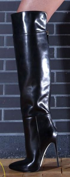 Stiletto Boots, High Heel Boots, Shoes Heels Boots, Heeled Boots, Extreme High Heels, Hot High Heels, High Heels Stilettos, Beige Boots, High Leather Boots