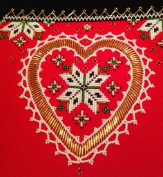 Hello all, Today I will be talking about the bodice inset for the folk costume of Hardanger and Hordaland. This is also called plastro...