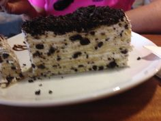 Oreo mille crepe by Blackwood cafe