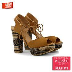 Maravilhosa meia pata em rafia folk e estilo espadrille de amarrar #koquini #sapatilhas #euquero #meiapata Compre Online: http://koqu.in/1NX608n
