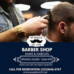 380+ Barber Customizable Design Templates | PosterMyWall Mens Hair Salon, Hair Salon Names, Men Hair, Small Salon Designs, Barber Shop Interior, Barbershop Design, Small Cafe Design, Hair Toner, Beauty Salon Interior