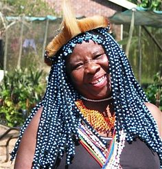 Sangoma near Durban. All About Africa, Pretoria, African Hairstyles, Textile Artists, Haiti, Braid Styles, Ancient Egypt, Hair Extensions, Afro