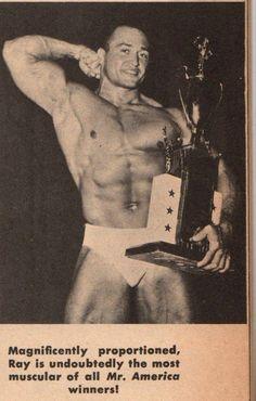 Ray Schaefer, Mr America 1956