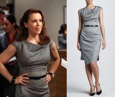 Mistresses Savi Alyssa Gray Grey Belted Dress Mistresses Fashion: Episode 8, Ultimatum