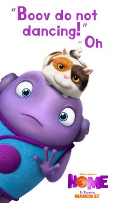 Get your groove on with Oh in the movie Home. Sponsored by DreamWorks.
