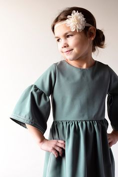 Vintage dress Every which way with sleeve add on Duchess and Hare Girls Dresses, Flower Girl Dresses, Hare, Vintage Dresses, Cold Shoulder Dress, Wedding Dresses, Sleeves, Tops, Fashion