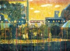 The Eye of the Painting: An Interview with Peter Doig – Border Crossings Magazine Contemporary Landscape, Urban Landscape, Landscape Art, Contemporary Artists, Landscape Paintings, Landscapes, Peter Doig, Luc Tuymans, Inspiration Artistique
