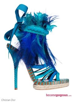 Christian Dior Blue Feather 2011