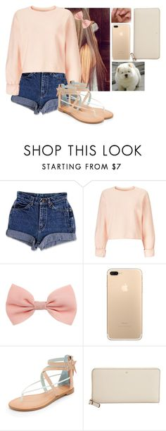 """Let me Just be me👸🏻👸🏻💗💗"" by hannahmcpherson12 ❤ liked on Polyvore featuring Miss Selfridge, Dolce Vita and Kate Spade"