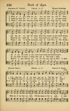 Rock of Ages, Cleft for Me | Augustus Toplady - Hymnary.org