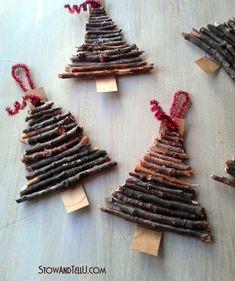 NapadyNavody.sk | 32 úžasných nápadov na nádherné vianočné dekorácie, ktoré si…