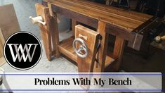 Hand Tool Woodworking Bench | What I Did Wrong and Learned wood by wrigh...