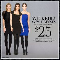 Le Chateau Canadian Coupon: FREE $25 Gift WUB a Cocktail/Party Dress! - Canadian Savers