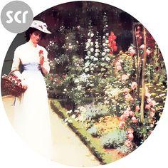 """ Lady in the garden "" screensaver @ https://drive.google.com/file/d/0B3KU26iEFvu1XzMxcDU1MC1telk/view?usp=sharing Make A $3 Donation To The Creator @ https://sellfy.com/p/ebd3/"