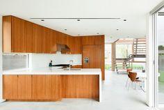 modern kitchen by Walker Workshop