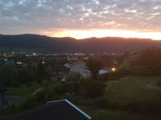 Orkanger by night