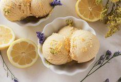 Lemon Curd Custard Ice Cream (i.e. What to do with egg yolks)