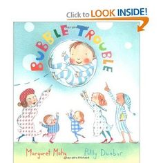 Bubble Trouble by Margaret Mahy & Polly Dunbar. Big words and great rhymes in this board book! Margaret Mahy, Bubble Recipe, Le Trouble, Big Bubbles, Stem Challenges, Engineering Challenges, Kids Reading, Read Aloud, Little Ones