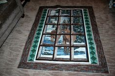 Looking for quilting project inspiration? Check out Through the Window by member Nana Jo 54.  Finished with techniques from Quilting Big Projects on a Small Machine on Craftsy.