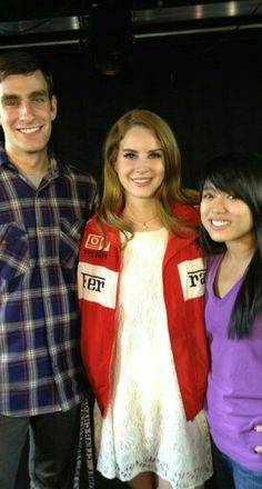 Lana Del Rey and fans