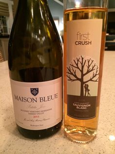 Two fantastic wines.