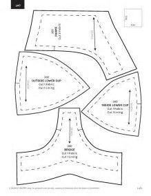 Image result for Printable Bra Pattern Large