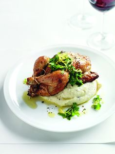 Donna Hay (Australia's bestselling cookbook author) & her recipe for Roasted Spatchcock with Porcini Mash were featured in the Sep/Oct/Nov '12 issue of Where Women Cook