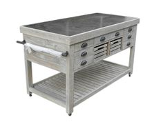 Zinc And Wood Furniture On Pinterest Round Dining Tables Dining Tables And Kitchen Islands