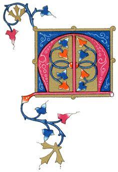 Decorative Letters :: Letter M