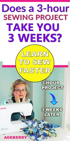 Like sewing tips for beginners? Check out my tutorial 36 simple and effective ways to sew faster. Learn how to sew faster, better, nicer, how to get better at sewing, how to cut fabric faster. There are many tricks to sew easier and faster. Sewing For Beginners Diy, Sewing Basics, Sewing Hacks, Sewing Tutorials, Sewing Crafts, Sewing Tips, Sewing Ideas, Fat Quarter Projects, Ladder Stitch