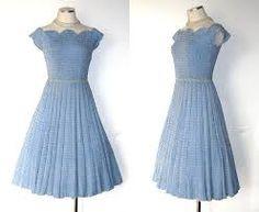 Image result for vintage crochet dresses
